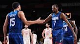 Kevin Durant praises Devin Booker's 'all-around' play in USA win vs. Spain