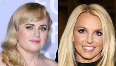 Rebel Wilson transforms into Britney Spears's iconic Nineties look in new Netflix film
