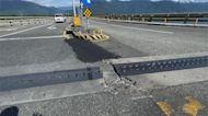地震頻繁傳花蓮大橋裂開位移 公總澄清:假訊息