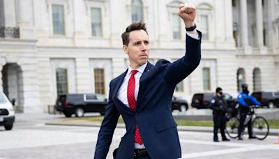 Of course Josh Hawley was the only no on anti-Asian hate crime bill. That's his brand