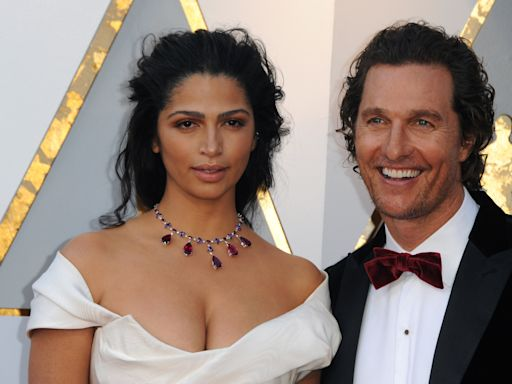 Matthew McConaughey's Son Looks Just Like Him in New Pic Posted by Mom Camila Alves