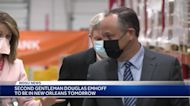 Second Gentleman Douglas Emhoff visiting New Orleans to tour summer camp, vaccination site