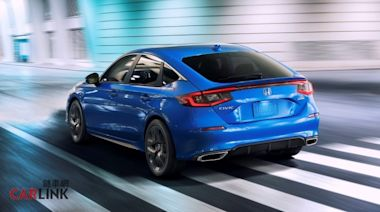 e:HEV油電版跟Type-R得要明年見,11代HONDA Civic掀背版正式登場!