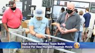 'They're Very Excited': High School Robotics Team Builds Device For New Morgan Freeman Movie