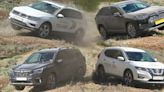 Toyota RAV4, VW Tiguan, Other Compact Crossovers Compete In Off-Road Test