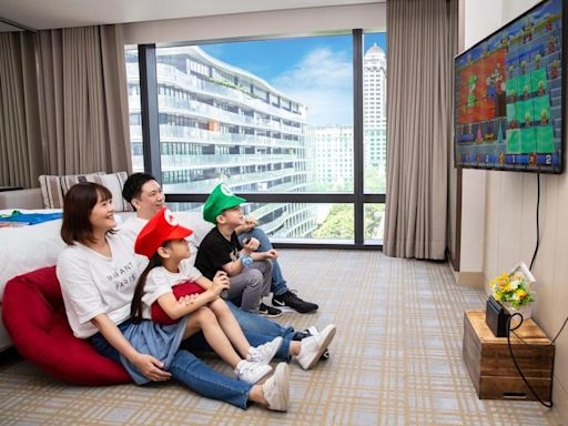 微解封城市遛兒計畫 台北萬豪推暑期四大親子主題房