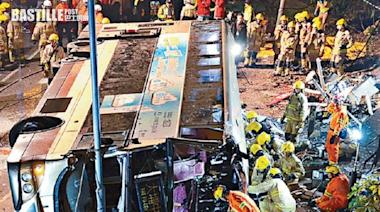 大埔公路19死車禍 車長就被判終身停牌申上訴被拒   社會事