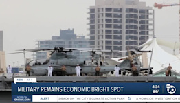 Military remains economic bright spot