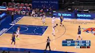 Draymond Green with an assist vs the New York Knicks