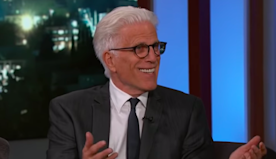 Ted Danson Has Finally Mastered the Floss Dance (Video)