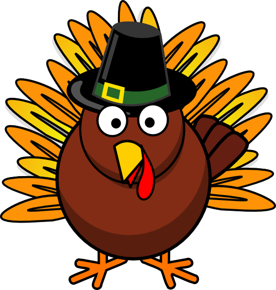 Thanksgiving Turkey Clip Art at Clker.com - vector clip art online ...