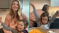 Ali Larter's Mini-Me Daughter Steals The Spotlight In Home Cooking Video