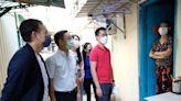 郭基煇楊政龍帶20青年訪屯門寮屋區 促政府改善基層居住環境