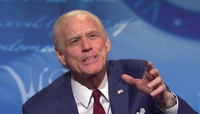 Jim Carrey's portrayal of Joe Biden on Saturday Night Live dismissed as 'cringe superspreader'