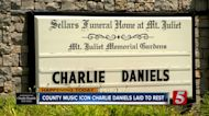 Music legend Charlie Daniels to be laid to rest today