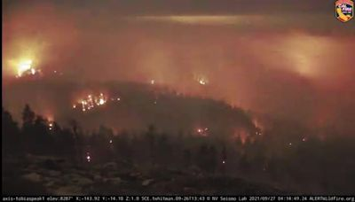 Sequoia National Forest's Windy Fire Grows to Over 133 Square Miles
