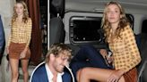 Logan Paul leaves Chiltern Firehouse with stunning singer after plush meal