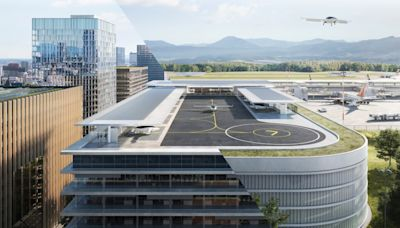 Parking Garages May Soon Become Mini Airports for Electric Air Taxis