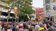 Protest Erupts in Barcelona After Catalan Leader Puigdemont Detained in Italy