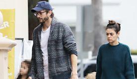 Mila Kunis & Ashton Kutcher Take Kids Wyatt, 5, & Dimitri, 3, On Family Shopping Trip — Adorable Pics
