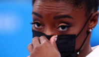 Gymnastics-'The Fighting Four' step up to win for Biles