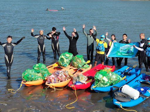 日月光環保潛水隊 捐桃園1200萬元擬清除500噸海洋垃圾