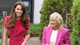 Jill Biden and Kate Middleton visited a preschool classroom and fed a rabbit during their first meeting