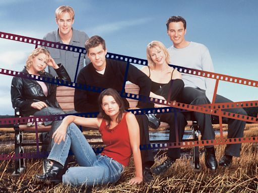 Katie Holmes Wore the Best Pair of Jeans - As Joey Potter On Dawson's Creek