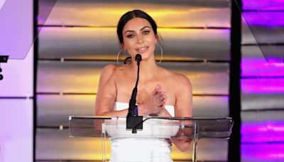 Great Outfits in Fashion History: Kim Kardashian in a Simple Strapless Rick Owens Dress