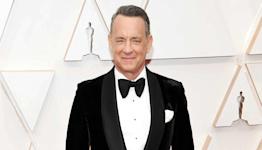 Tom Hanks captured on video crashing yet another couple's wedding