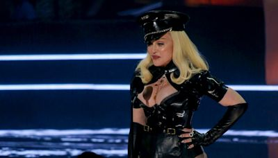 Madonna's bottom deserves an award all of its own – self-confidence is a great thing
