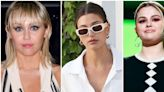 Hailey Bieber Very Publicly Supported Miley Cyrus and Selena Gomez for the '7 Things' Anniversary.