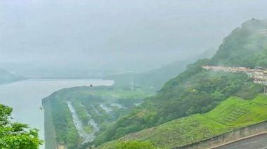 石門水庫解渴了! 鄭文燦:終於聽見下雨的聲音