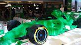 打破法拉利35萬塊紀錄 SAMF用50萬塊樂高積木打造一輛F1賽車