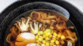 醬油湯底鹽麴雞肉烏冬