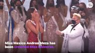 Andrea Meza of Mexico was crowned Miss Universe, beating out Miss Brazil and 73 others