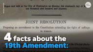4 historical facts about the 19th amendment, women's right to vote