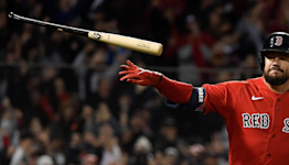Red Sox continue grand slam barrage: Kyle Schwarber's Game 3 blast their third in two games
