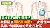 簡單就能做到!推推腳趾這區改善高血壓