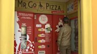Rome's newest vending machine serves freshly baked pizzas in just three minutes