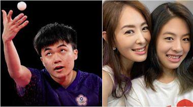 女兒國小也是桌球隊!賈永婕硬蹭問「跟林昀儒比過嗎?」 答案笑噴網