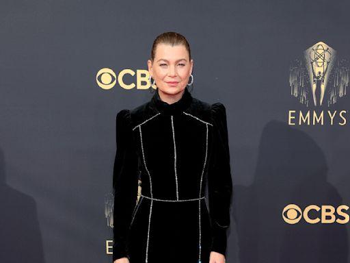 Ellen Pompeo Rocked a Butt-Length Ponytail at the Emmy Awards