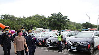 41輛新型警用車上路 台東員警值勤添利器