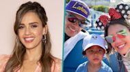 Jessica Alba & Cash Warren Take Son Hayes, 3, On His First Disneyland Adventure
