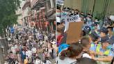 成都數百人遊行要恒大還錢 警搶橫幅爆衝突