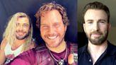 Chris Hemsworth Makes Fun of Chris Evans on His Birthday With Chris Pratt's Photo