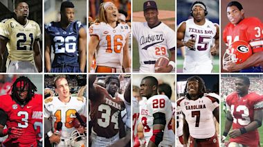 Football's 'One-and-Done' Candidates, From Adrian Peterson to Trevor Lawrence