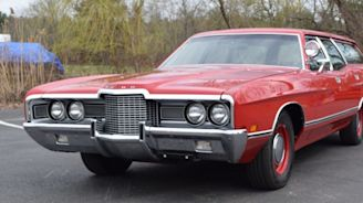 This 1971 Ford Galaxie 500 Wagon with 429 Police Interceptor V-8 Is up for Grabs