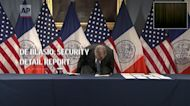de Blasio: Security detail report inaccurate