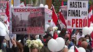 Peruvians march 29 years after Guzman's capture